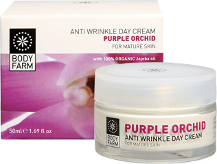 Anti-wrinkle Day Cream with PURPLE ORCHID