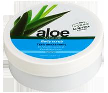 aloe body scrub