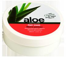 aloe hair mask
