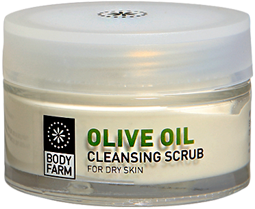 olive oil face scrub