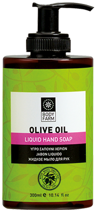 olive oil line liquid hand soap
