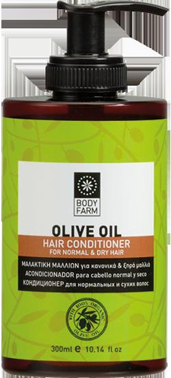 μαλακτική ξηρά μαλλιά olive line