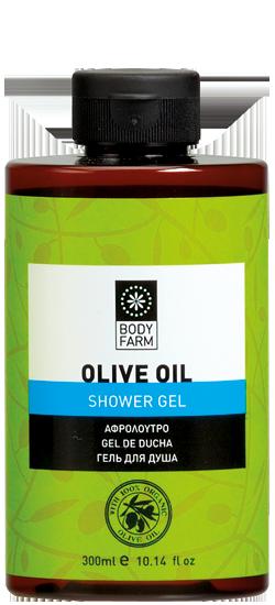 αφρόλουτρο olive line