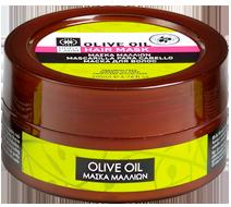 μάσκα μαλλιών olive line
