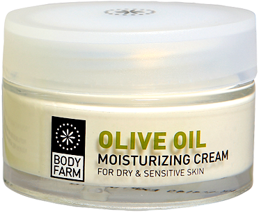 olive line dry sensitive face cream