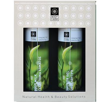 gift pack πράσινο τσάι